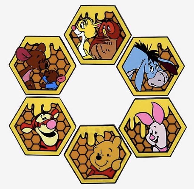 Winnie the Pooh Honeycomb Blind Box Pins at Hot Topic