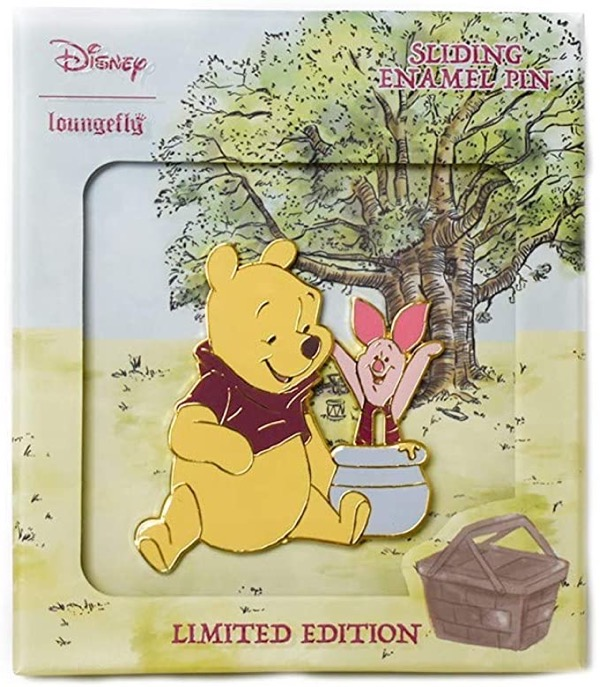 Winnie the Pooh  & Piglet Loungefly Pin by Modern Pinup