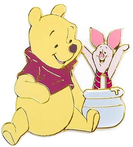 Winnie the Pooh  & Piglet Loungefly Pin