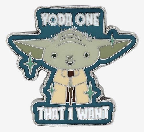 Yoda One BoxLunch Star Wars Pin