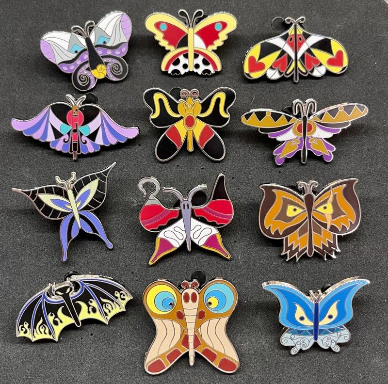 Beautiful Butterflies Epcot Flower & Garden Mystery Pins