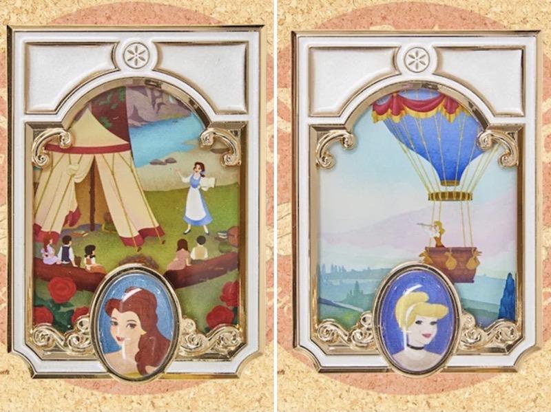 Belle & Cinderella Pin Trading Carnival 2021 Jumbo Pins