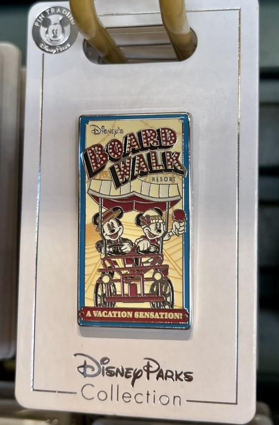 Boardwalk Resort 2021 Disney Pin
