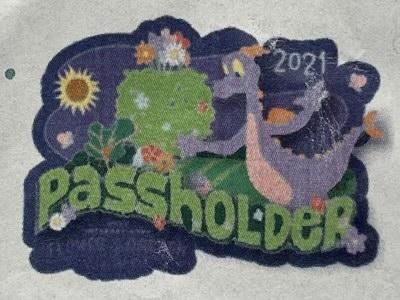 Figment Passholder Pin - Epcot Flower & Garden Festival 2021