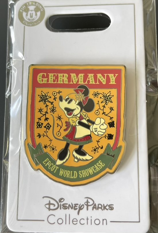 Germany Epcot World Showcase 2021 Disney Pin