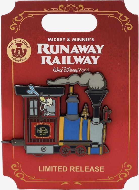 Goofy Runaway Railway BoxLunch Pin