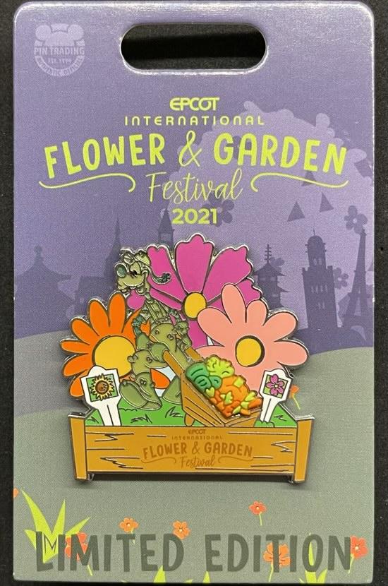 Goofy Topiary Pin - Epcot Flower & Garden Festival 2021
