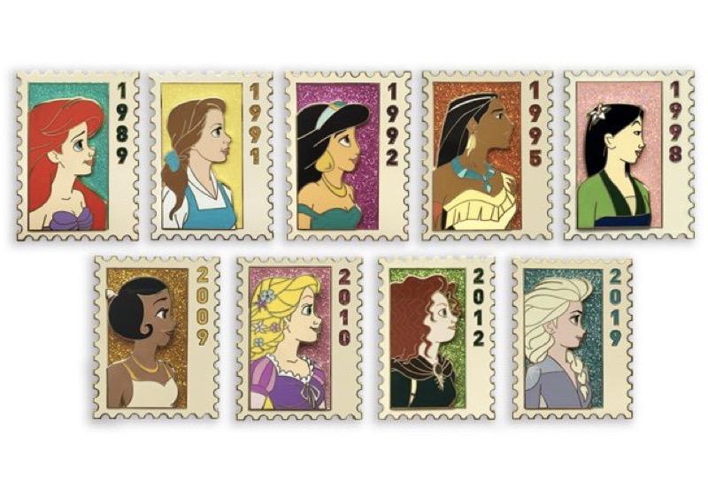 International Women's Day D23 Disney Princess Pins