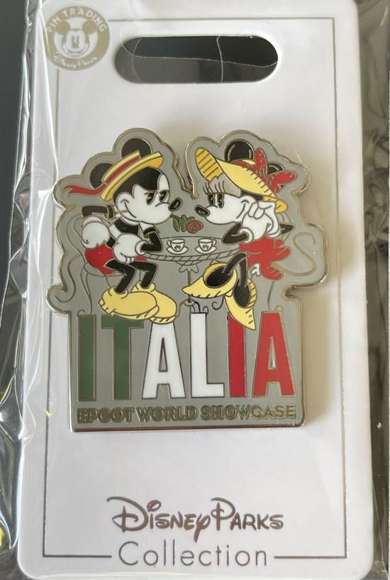 Italy Epcot World Showcase 2021 Disney Pin