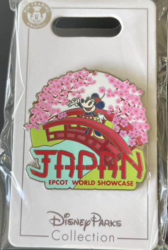 America Epcot World Showcase Disney Pin