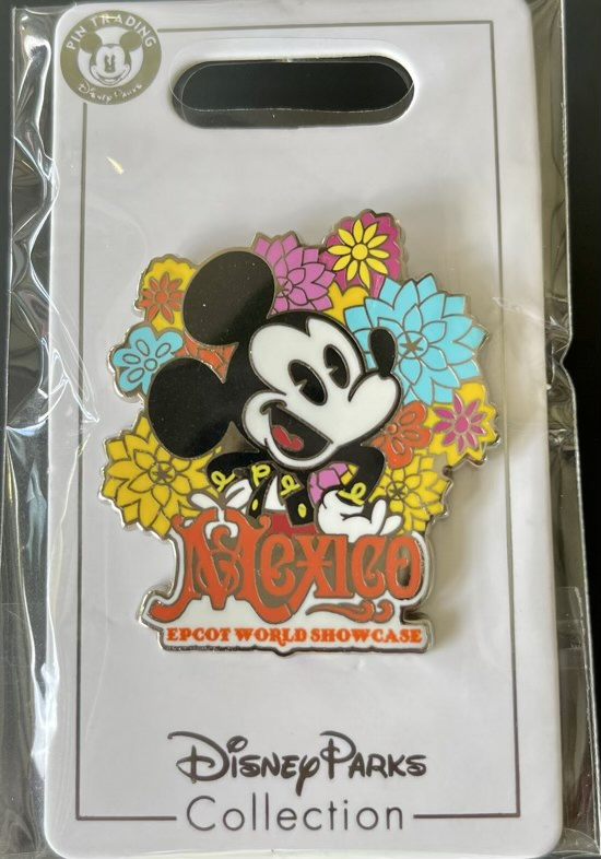 Mexico Epcot World Showcase 2021 Disney Pin