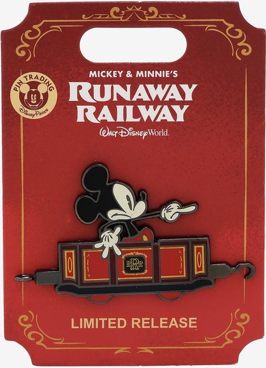 Mickey Mouse Runaway Railway BoxLunch Pin