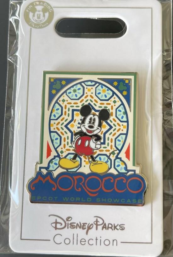 Morocco Epcot World Showcase Disney Pin