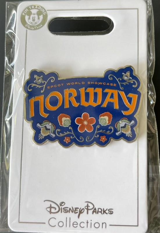 Norway Epcot World Showcase 2021 Disney Pin