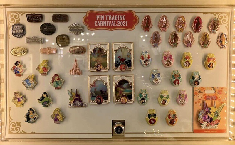 Pin Trading Carnival 2021 HKDL Pin Releases