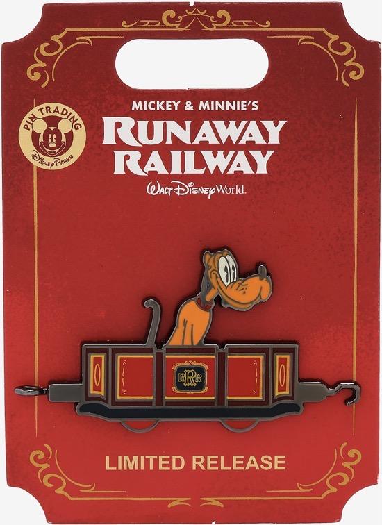 Pluto Runaway Railway BoxLunch Pin