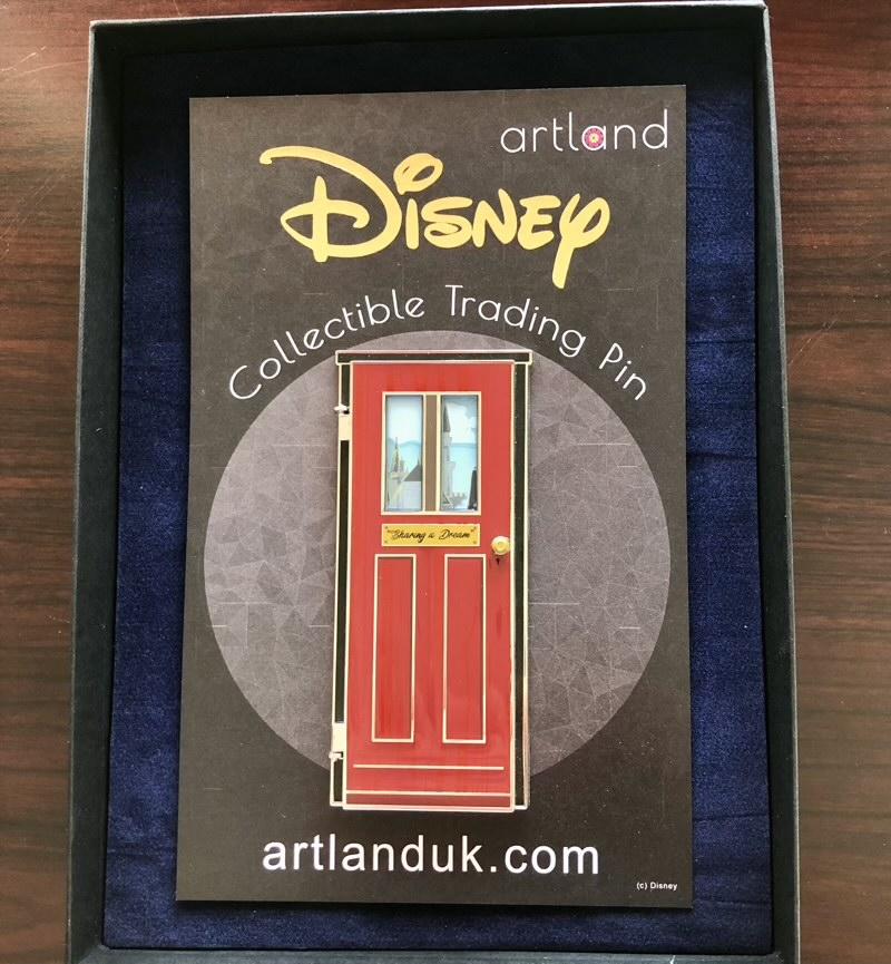 Sharing a Dream LE 100 ArtLand Disney Pin