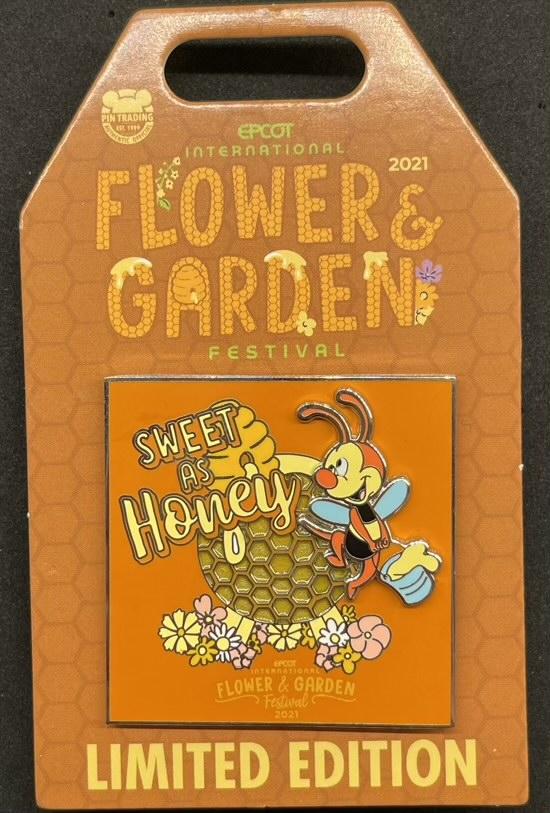 Spike Pin - Epcot Flower & Garden Festival 2021