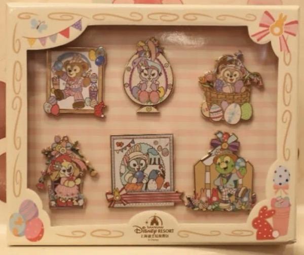 Spring 2021 Shanghai Disney Boxed Pin Set
