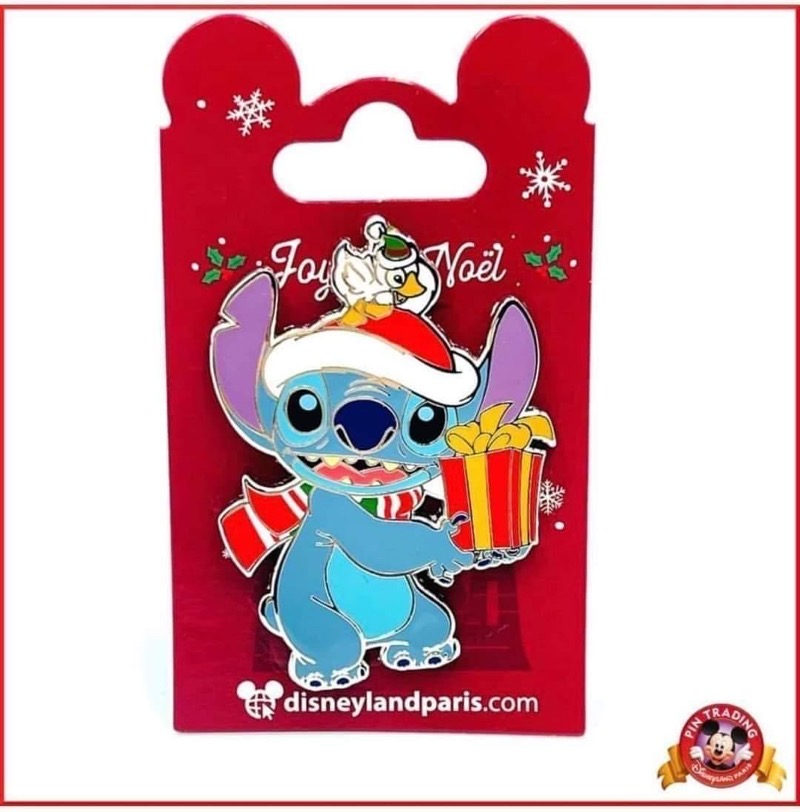 Stitch Christmas 2020 Disneyland Paris Pin