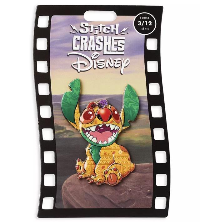 The Lion King – Stitch Crashes Disney Pin Series 3