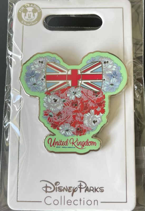United Kingdom Epcot World Showcase Disney Pin