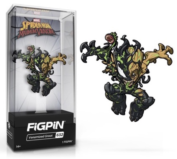 Venomized Groot #632 FiGPiN