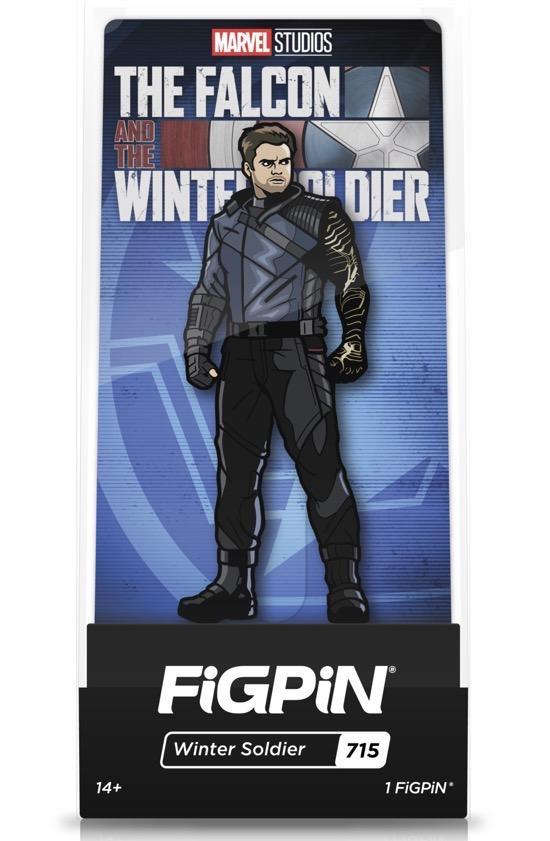 Winter Soldier #715 FiGPiN