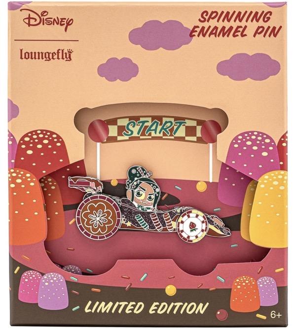 Wreck-It Ralph Vanellope Loungefly Disney Pin