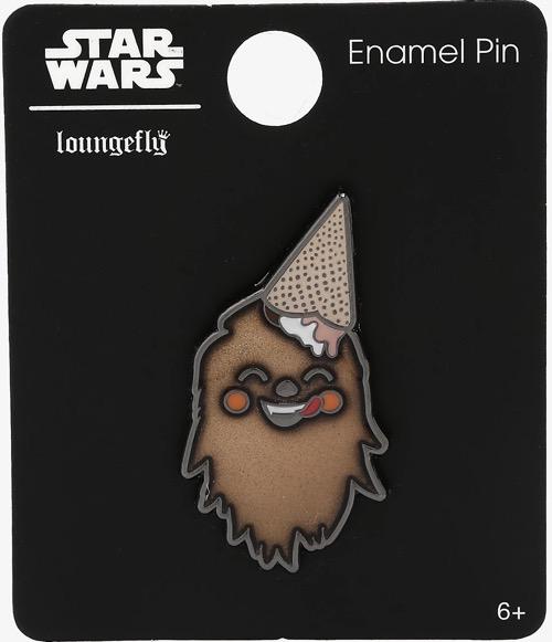 Chewbacca Ice Cream BoxLunch Star Wars Pin
