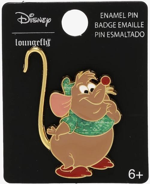 Cinderella Gus Gus Tie-Dye BoxLunch Disney Pin
