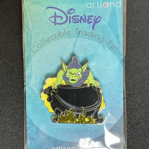 Creeper LE 200 ArtLand Disney Pin