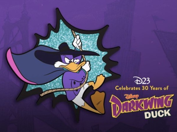 Darkwing Duck 30th Anniversary D23 Exclusive Pin
