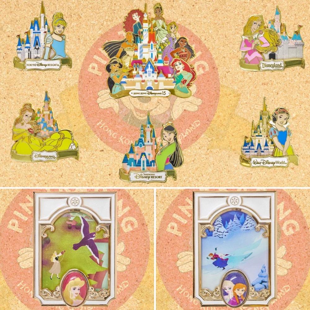 Disney Princess Designer Series from Pin Trading Carnival 2021 at HKDL