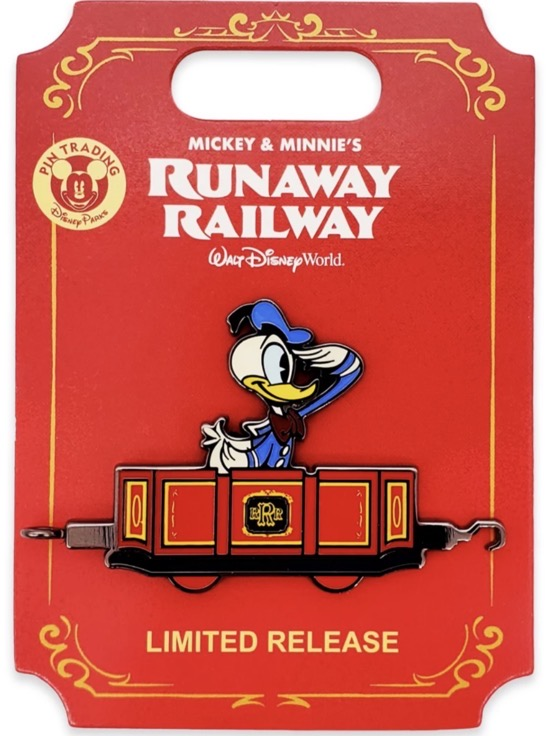 Donald Duck Runaway Railway BoxLunch Pin