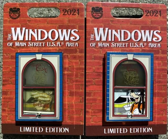 Goofy Monorail – Windows of Main Street U.S.A® Area Disney Pin