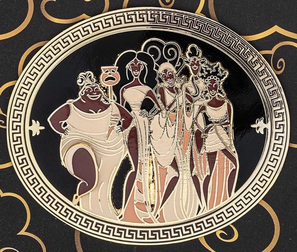 Hercules Muses Loungefly Disney Pin