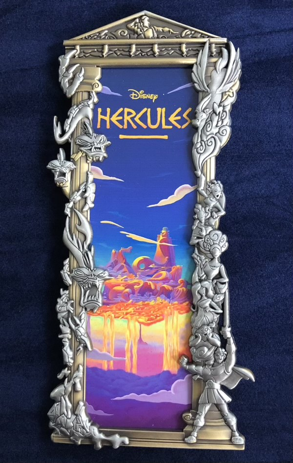Hercules Two Tone Ben Harman ArtLand Disney Pin