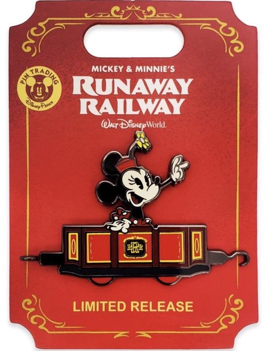 Minnie Mouse Runaway Railway BoxLunch Pin