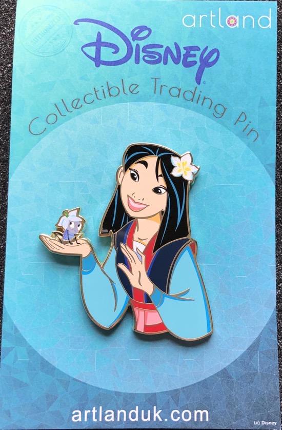 Mulan Princess & Friends LE 250 ArtLand Pin