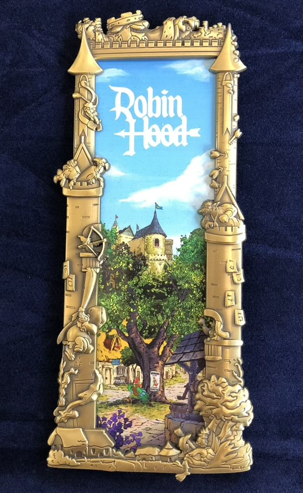 Robin Hood Gold Ben Harman ArtLand Disney Pin