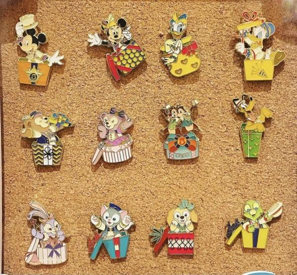 Shanghai Disney Resort 5th Anniversary Mystery Pins