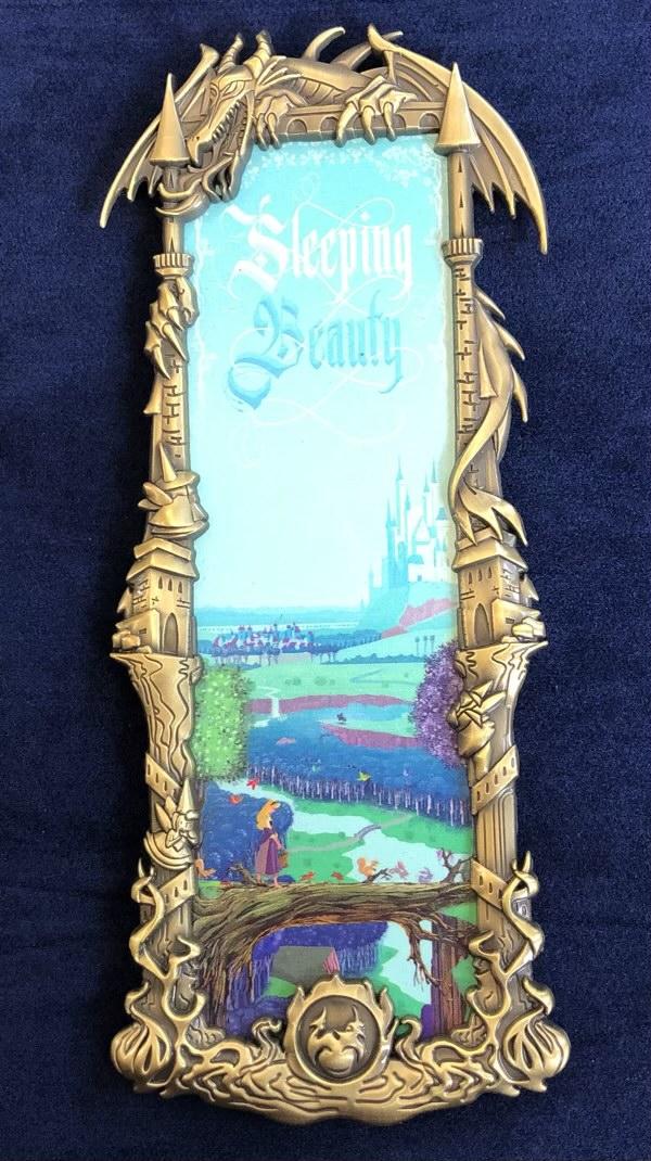 Sleeping Beauty Gold Ben Harman ArtLand Disney Pin