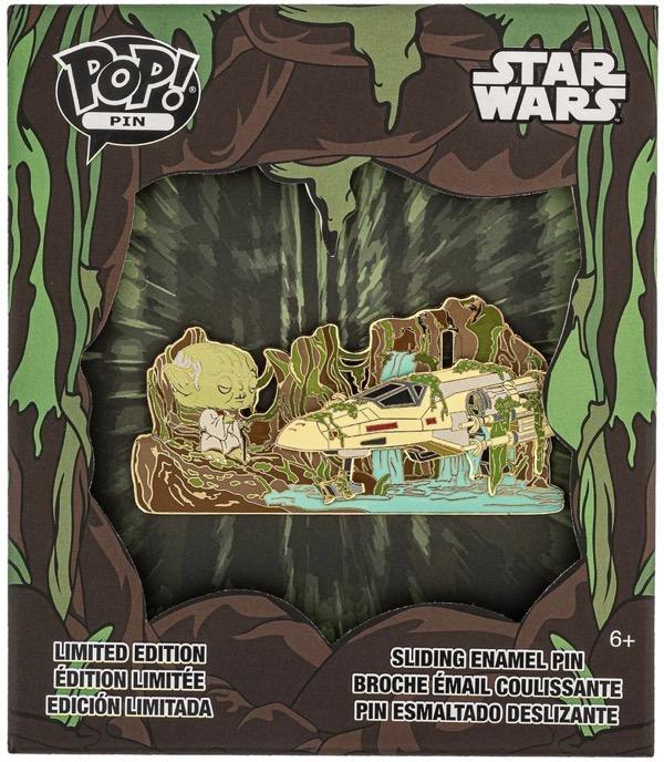 Star Wars Yoda Force Loungefly Disney Pin