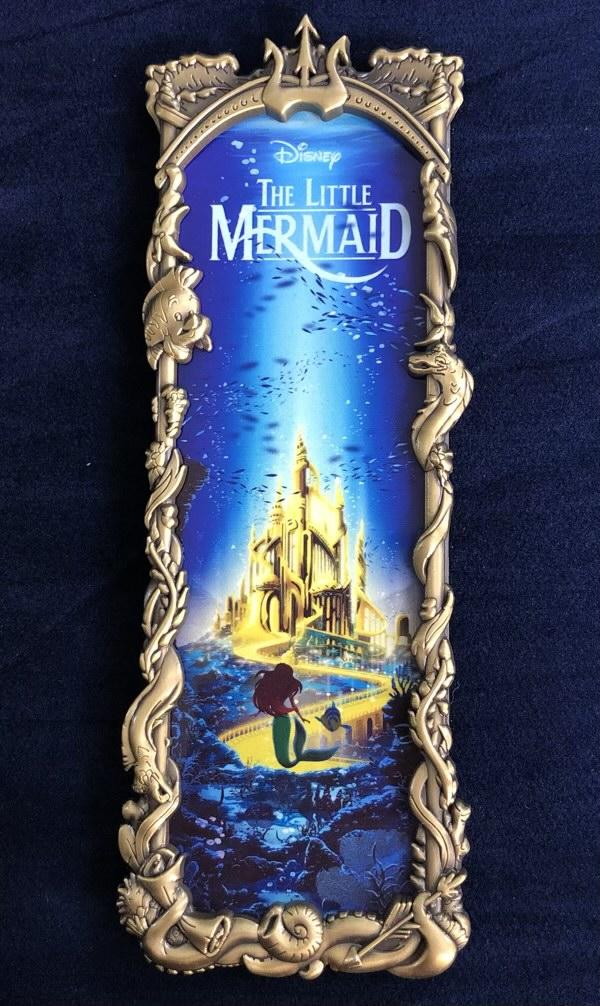 The Little Mermaid Gold Ben Harman ArtLand Disney Pin