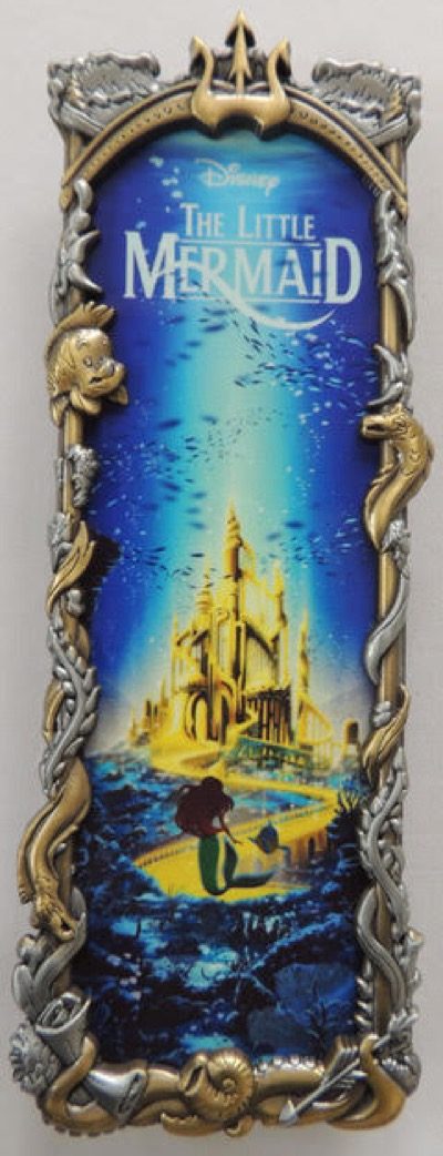 The Little Mermaid Two Tone Ben Harman ArtLand Disney Pin