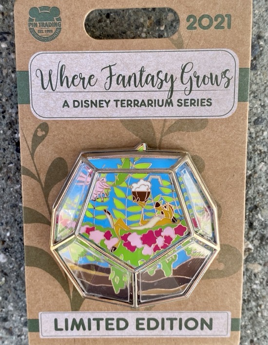 Timon Terrarium Disney Pin