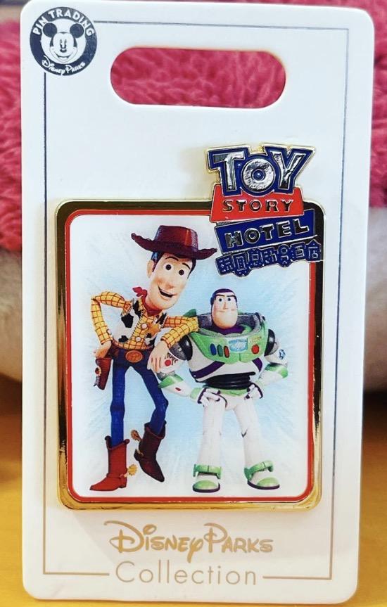 Toy Story Hotel Shanghai Disney 2021 Pin