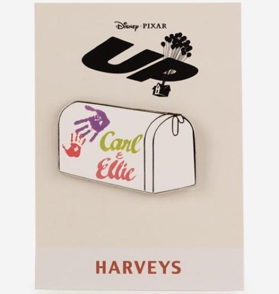 UP Carl and Ellie Mailbox Harveys Disney Pin