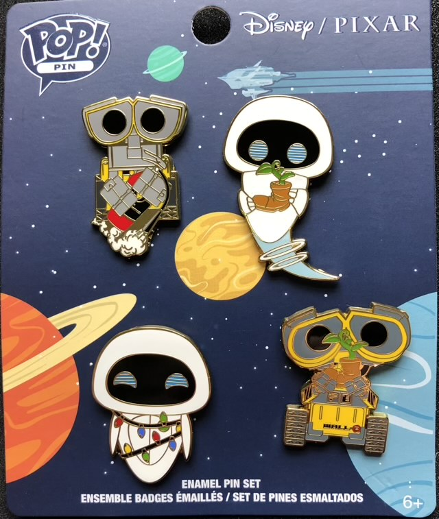 WALL-E Earth Day Pop! Pin Set by Loungefly